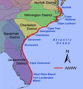 Map Of East Coast Beaches Map Map Usa East Coast Islands Major Us Map East