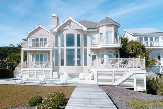 Oceanfront Homes On Hilton Head Island South Carolina