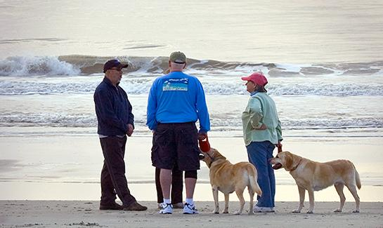Residents of Hilton Head's Shipyard Community Gather on the Beach